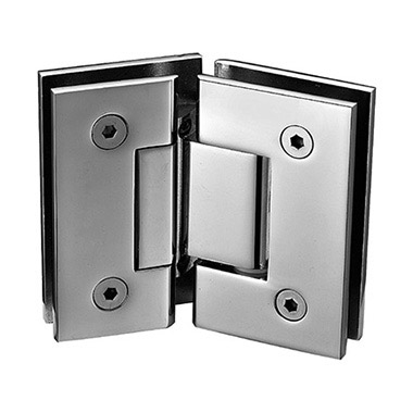 135 degree glass to glass square shower hinge