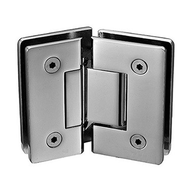 135 degree glass to glass round corner shower hinge